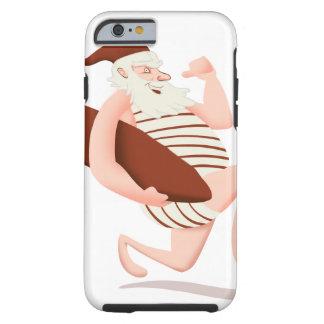 Lauf Weihnachtsmanns Surfensankt Klaus Tough iPhone 6 Hülle