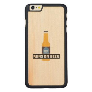 Läufe auf Bier Z7ta2 Carved® Maple iPhone 6 Plus Hülle