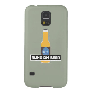 Läufe auf Bier Z7ta2 Galaxy S5 Cover