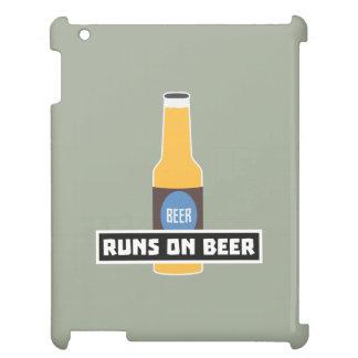 Läufe auf Bier Z7ta2 iPad Hülle