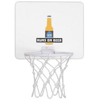 Läufe auf Bier Z7ta2 Mini Basketball Netz