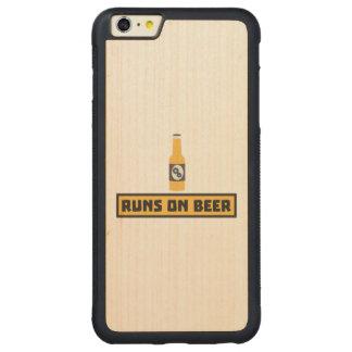 Läufe auf Bier Zmk10 Carved® Maple iPhone 6 Plus Bumper Hülle