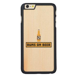 Läufe auf Bier Zmk10 Carved® Maple iPhone 6 Plus Hülle