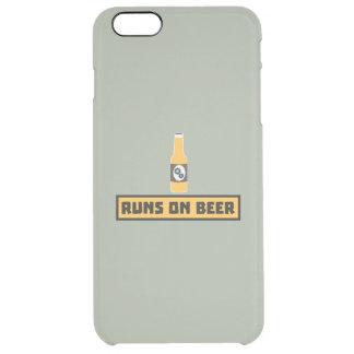 Läufe auf Bier Zmk10 Durchsichtige iPhone 6 Plus Hülle