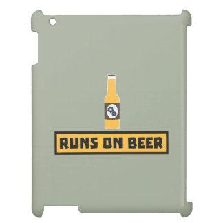 Läufe auf Bier Zmk10 iPad Hülle