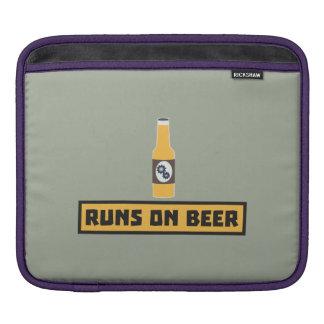 Läufe auf Bier Zmk10 iPad Sleeve