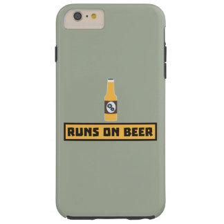 Läufe auf Bier Zmk10 Tough iPhone 6 Plus Hülle