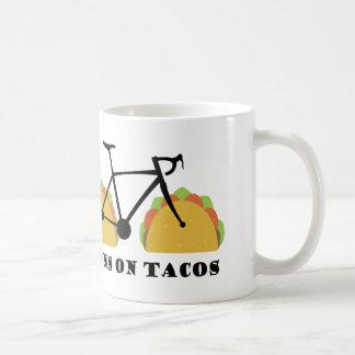 Läufe auf Tacos Kaffeetasse