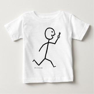 Läufe mit Scheren Baby T-shirt