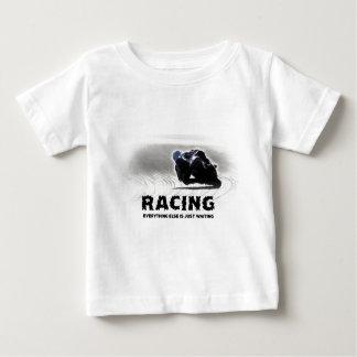 Laufen - alles anderes ist wartete gerade baby t-shirt