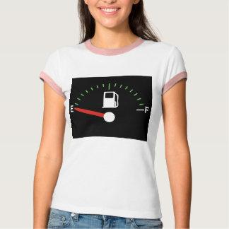 Laufen auf leeres T-Shirt