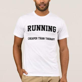 Laufen: Billiger als Therapie-T - Shirt