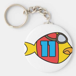 Laufen der Fische Schlüsselanhänger