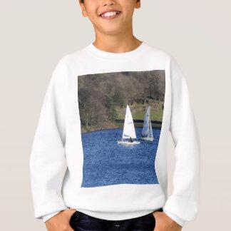 Laufen der Schlauchboote Sweatshirt