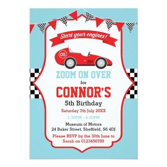 Laufen der themed Geburtstags-Party Einladung