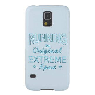 LAUFEN, der ursprüngliche extreme Sport (blaues Hülle Fürs Galaxy S5