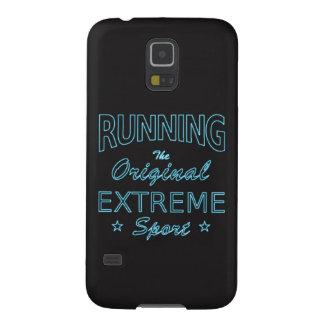 LAUFEN, der ursprüngliche extreme Sport (blaues Samsung Galaxy S5 Cover