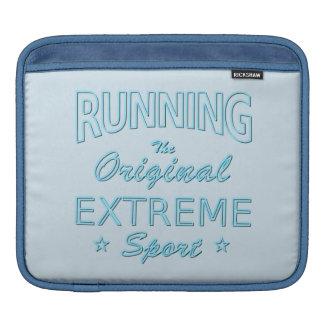 LAUFEN, der ursprüngliche extreme Sport (blaues Sleeve Für iPads