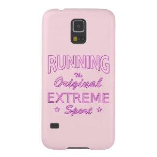 LAUFEN, der ursprüngliche extreme Sport (rosa Galaxy S5 Cover
