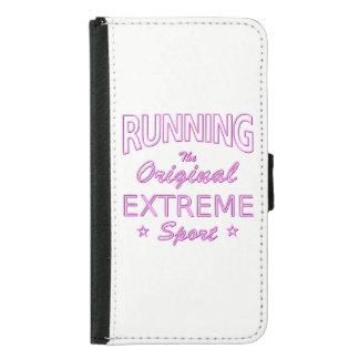 LAUFEN, der ursprüngliche extreme Sport (rosa Geldbeutel Hülle Für Das Samsung Galaxy S5