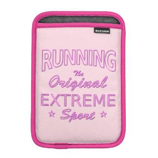 LAUFEN, der ursprüngliche extreme Sport (rosa iPad Mini Sleeve