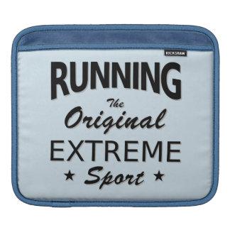 LAUFEN, der ursprüngliche extreme Sport. Sleeve Für iPads