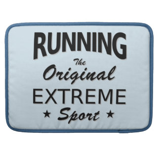 LAUFEN, der ursprüngliche extreme Sport. Sleeve Für MacBook Pro
