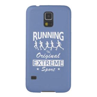 LAUFEN, der ursprüngliche extreme Sport (weiß) Galaxy S5 Hülle