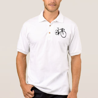 Laufen des Fahrrades Polo Shirt