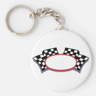Laufen des Logos Schlüsselanhänger