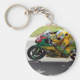 Laufen des Motorrades Keychain Schlüsselanhänger