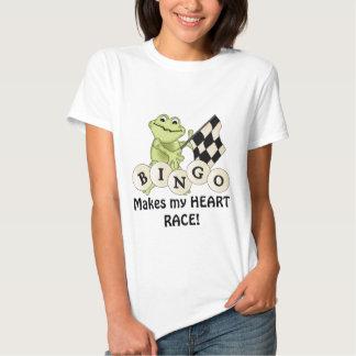 Laufen des T - Shirt der Frosch-Bingofrauen