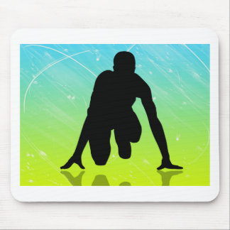 Laufen - Leichtathletik Mauspad