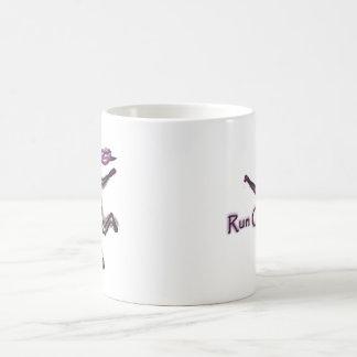 Laufen Sie an Kaffeetasse