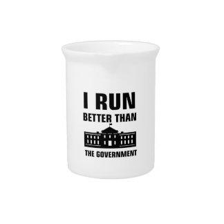 Laufen Sie besser als die Regierung Krug