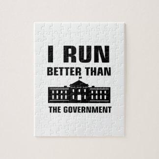 Laufen Sie besser als die Regierung Puzzle