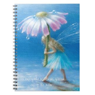 Laufen Sie das Wolkennotizbuch durch Lynne Notizblock