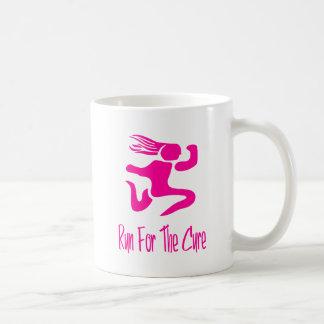 Laufen Sie für die Heilung Kaffeetasse