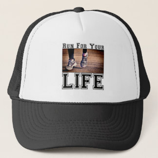 Laufen Sie für Ihr Leben Truckerkappe