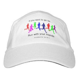 Laufen Sie mit Ihren Freunden Headsweats Kappe
