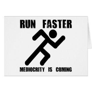 Laufen Sie schneller Karte