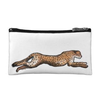Laufende Gepard-Kunst bilden Tasche