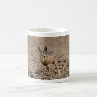 Laufende Hasen Kaffeetasse