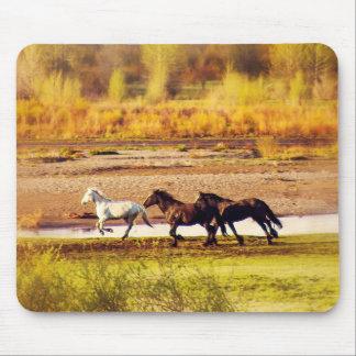 Laufende Pferde Mauspad