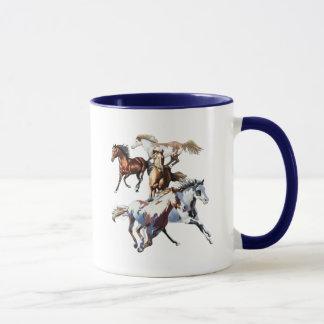 Laufende Pferde Tasse