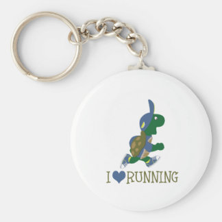 Laufende Schildkröte der Liebe I Schlüsselanhänger