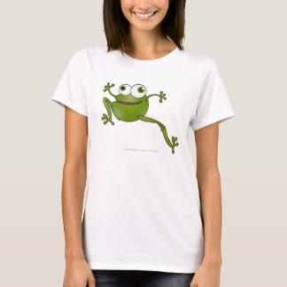 Laufende Schlange - Frosch - Frauen-T - Shirt
