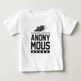 Laufende Süchtige anonym Baby T-shirt