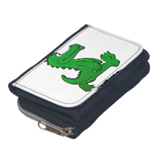 Laufender Alligator