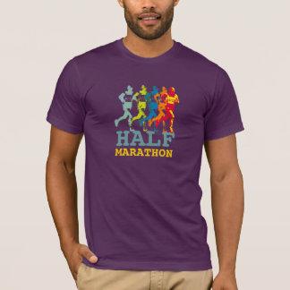 laufender HALBMARATHON T-Shirt